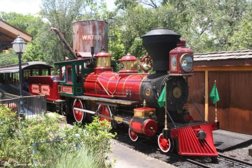 Speaking of trains, how about a ride on The Roy O. Disney?