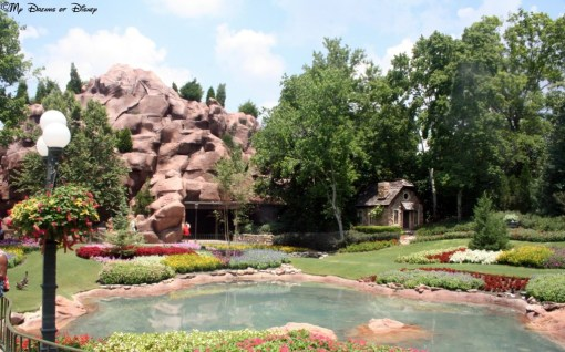 One of the best pavilions in Epcot's World Showcase, the Canada Pavilion's landscaping is incredible!