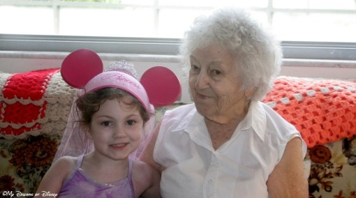 Grandma and Sophie, 2006