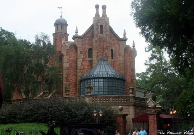 Coming in third, the Haunted Mansion, with just 28 votes.