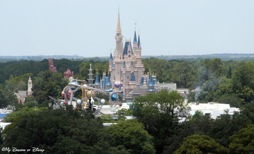 Cinderella Castle is the crown jewel of the Magic Kingdom!
