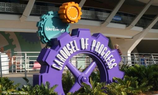 Walt Disney's Carousel of Progress is one of my favorite shows!