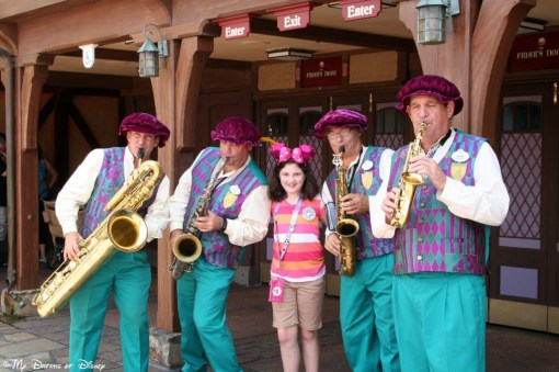The Dapper Dans serenaded Sophie with Happy Birthday greetings!
