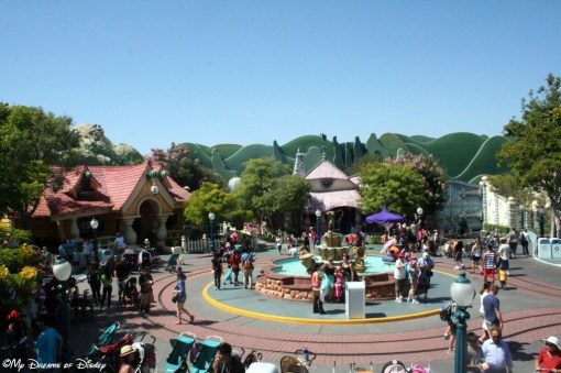 Mickey's Toontown!