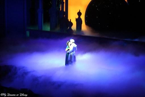 The Kiss -- Princess Jasmine and Prince Ali!