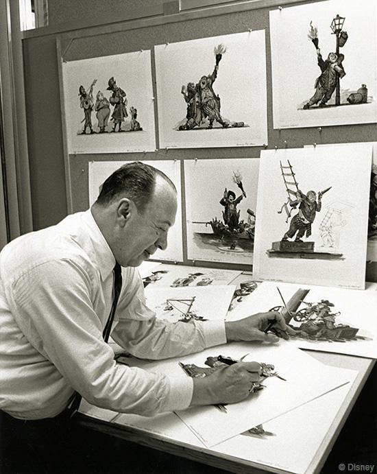 Marc Davis at work