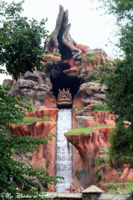 Splash Mountain's 52' Drop!