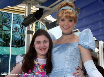 Sophie with Cinderella