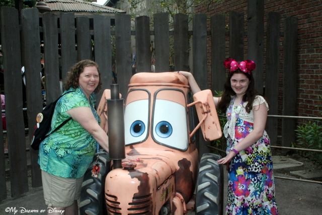 Tractor Tipping in Cars Land!