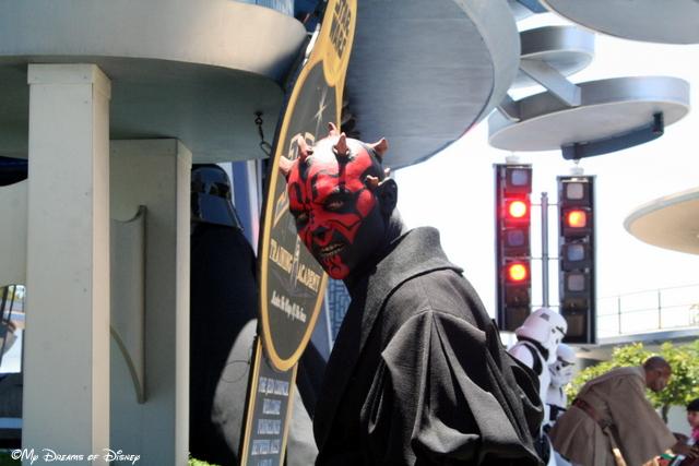 Darth Maul at Disneyland
