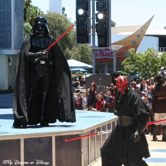 The Two Darths -- Vader and Maul!