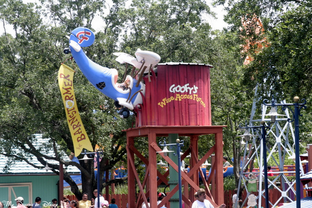 Today's Trivia is about Goofy's Barnstormer, so this may trick you up!
