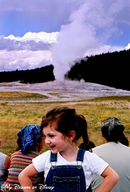 The Good Life...is standing with your hands on your hips while Old Faithful goes off over your head...