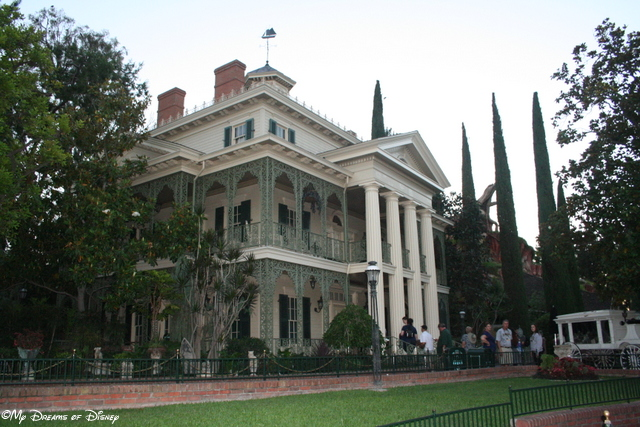 The Haunted Mansion building is really cool, and is one of my favorite structures at Disneyland!