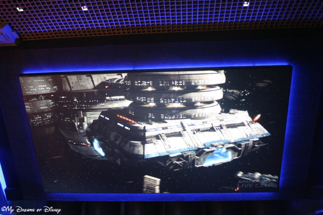 Just like Walt Disney World, Star Tours is a great attraction!