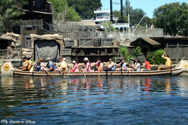 This canoe ride is one that we didn't get around to, but I think would be fun -- and tiring!