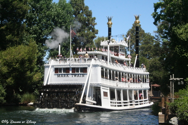 The Mark Twain Riverboat is just one of the great things to do in Frontierland!