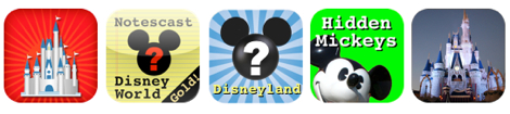 The five Disney Apps that we are giving away!