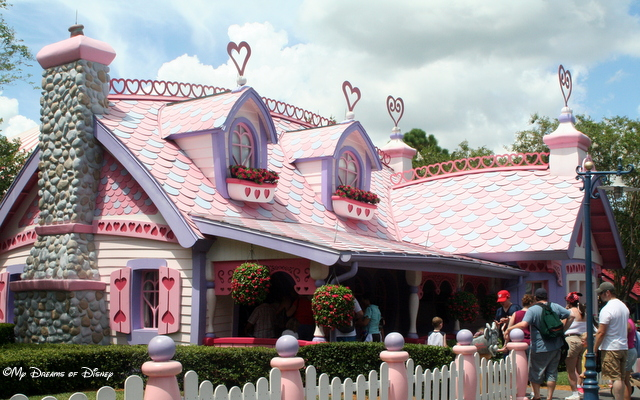 I miss Minnie's Country House.  It was so much fun to see her regular house at Disneyland!