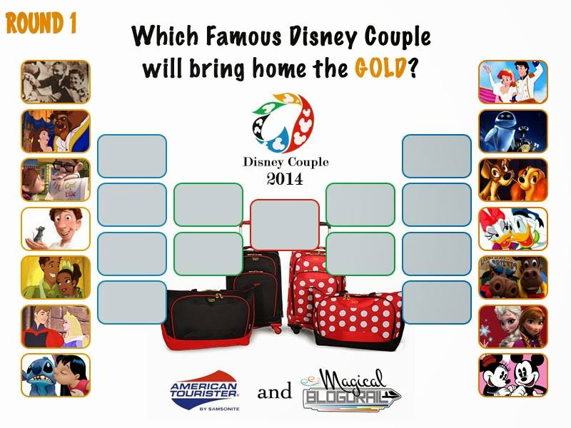 Famous Disney Couple Round 1