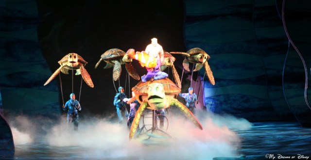 But my favorite of the two is Finding Nemo: The Musical!