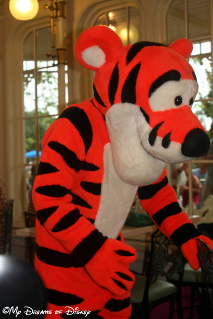Tigger is bounding along at the Crystal Palace!