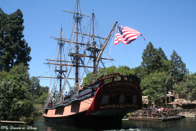 The Sailing Ship Columbia is a relaxing, incredible trip back in time to the era of that type of ship.