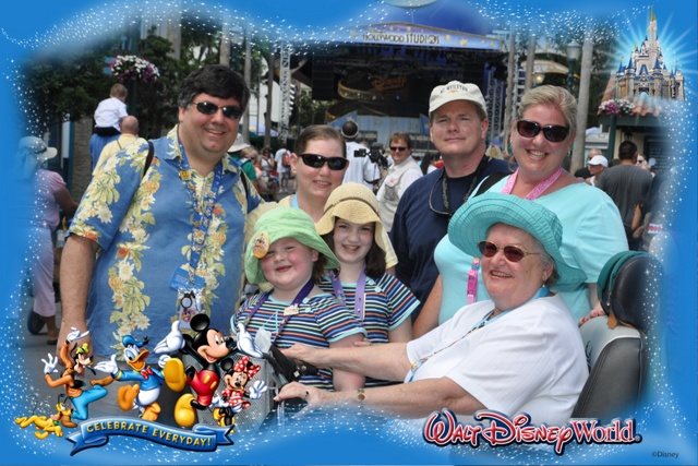 One of our Photopass Photos from our trip in 2011!