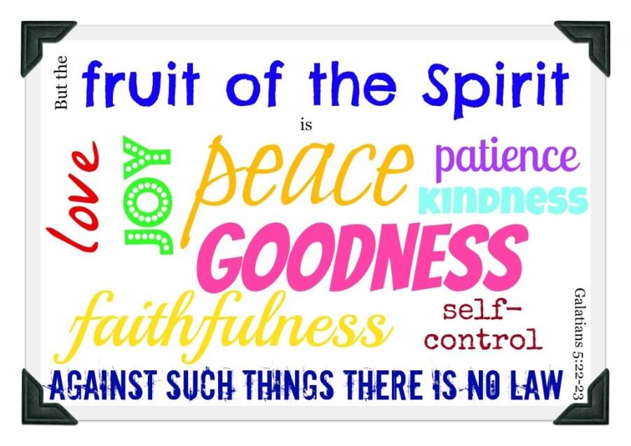 fruit of the spirit 2