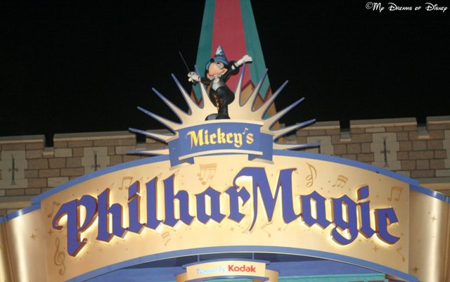 Mickey's PhilharMagic is one of my favorite shows at Disney!