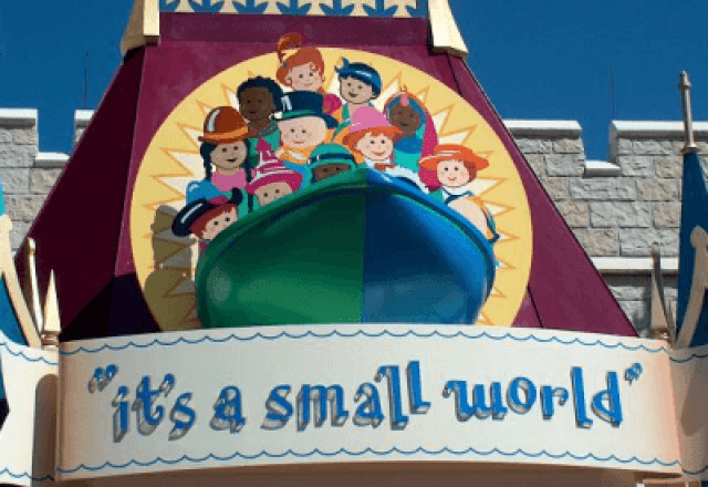 the 50th anniversary of the beloved it's a small world