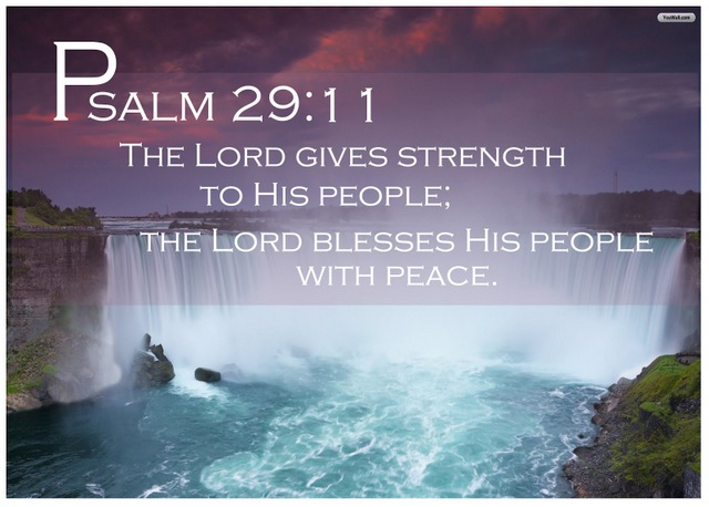 Psalm 29:11