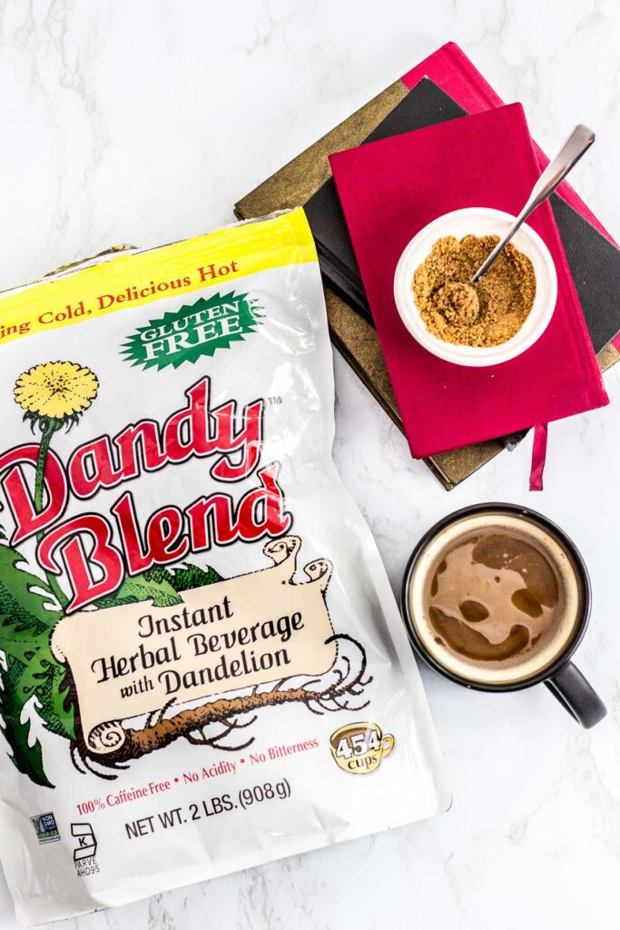 Best coffee alternative option 4 - Dandy blend (dandelion root and chicory root)