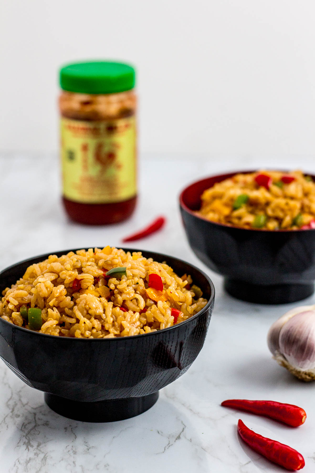 Extra Spicy Vegetable Fried Rice My Eclectic Bites