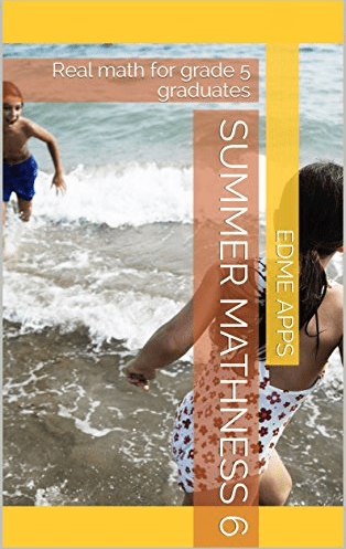 The cover of Summer Mathness 6