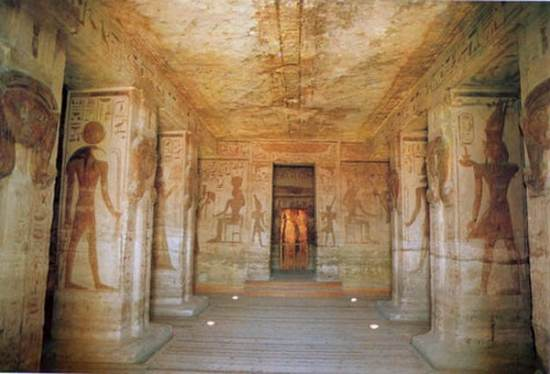 Abu Simbel Temples by plane from Luxor
