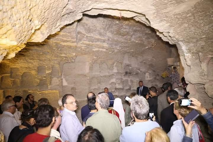 Tomb Full of Sacred Cats and Beetles Found in Sakkara 12