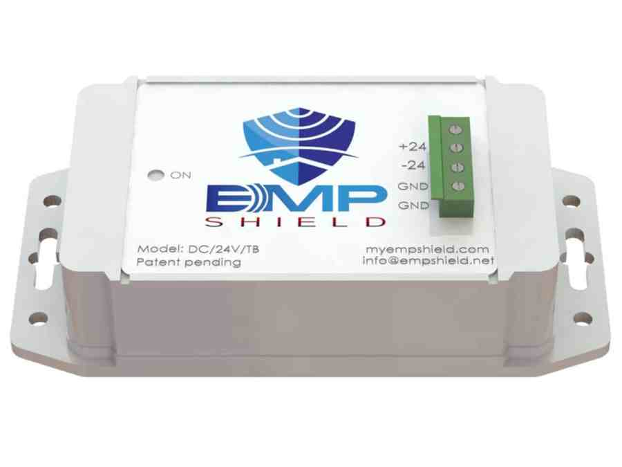 EMP Shield DC 24 Volt Model Terminal Box Version 1