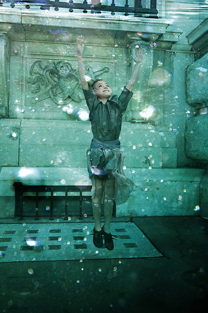 The Small Gatsby Spring 2016 Underwater Kids Fashion Shoot