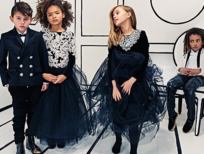Welcome to my official instagram ! Olivier Rousteing Revealed The First Ever Balmain Kids ...