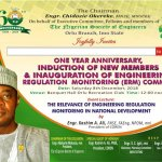 NSE Orlu to mark one year anniversary with focus on Engineering Regulation and Monitoring