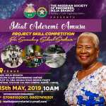 Ikeja Engineers to Honour Idiat Amusu as Branch organizes Project Skill Competition for Schools