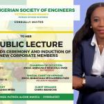 NSE Victoria Island Invites to Public Lecture, Award and Induction of New Members