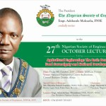 October lecture: Engr Ademola Olorunfemi to deliver 2019 Edition