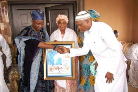Surprise Birthday: Osun Cabinet Nominee, Ibitoye 'Kilomodemo', Amuses his Country Home Monarch, Afaaji.