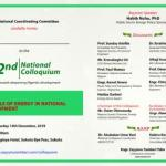 Colloquium to Address the Role of Energy in National Development set for December 14