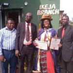 Akingbagbohun inducted into Fellowship Hall of Fame at Chartered Institute of Public Resources Management and Politics, Ghana
