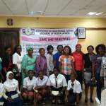 Promise made, Promise Kept: APWEN Abeokuta Present Cheques to Secondary School Female Students