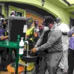 COVID19:  POLYTECHNIC DONATES  HANDWASHING MACHINE TO STATE GOVERNMENT