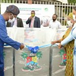 LASG Donates 100 Units of Handwashing Stations to Strategic Locations